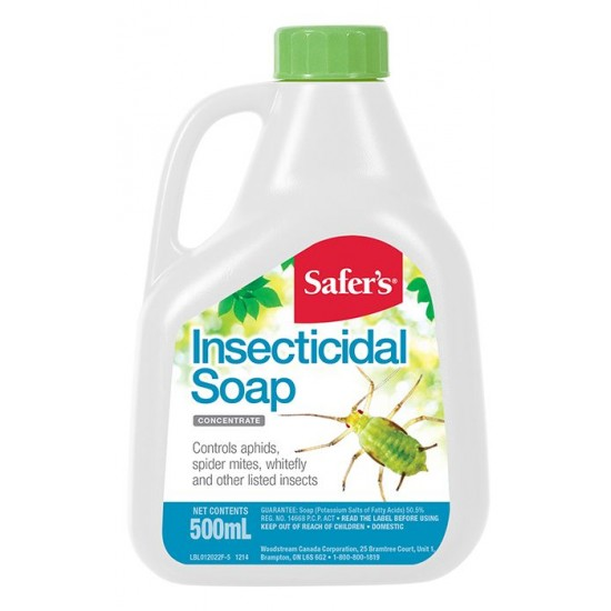 Insecticidal soap - concentrate 500 ml