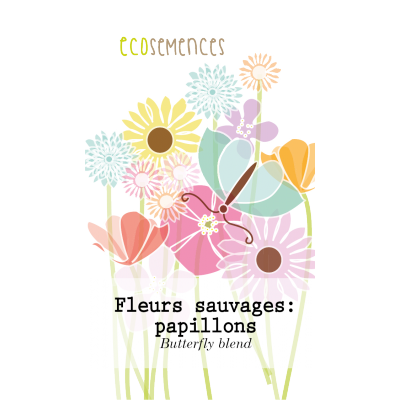 Fleurs sauvages: papillons