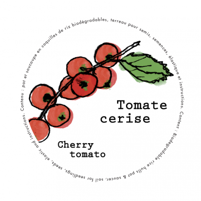 Minipot tomate cerise