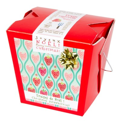 Christmas strawberries (red) Out of stock