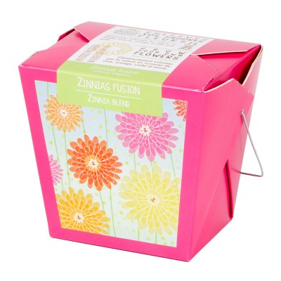 Zinnias blend (kraft box)